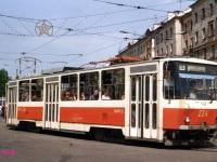 Новокузнецк. Tatra T6B5 (Tatra T3M) №224
