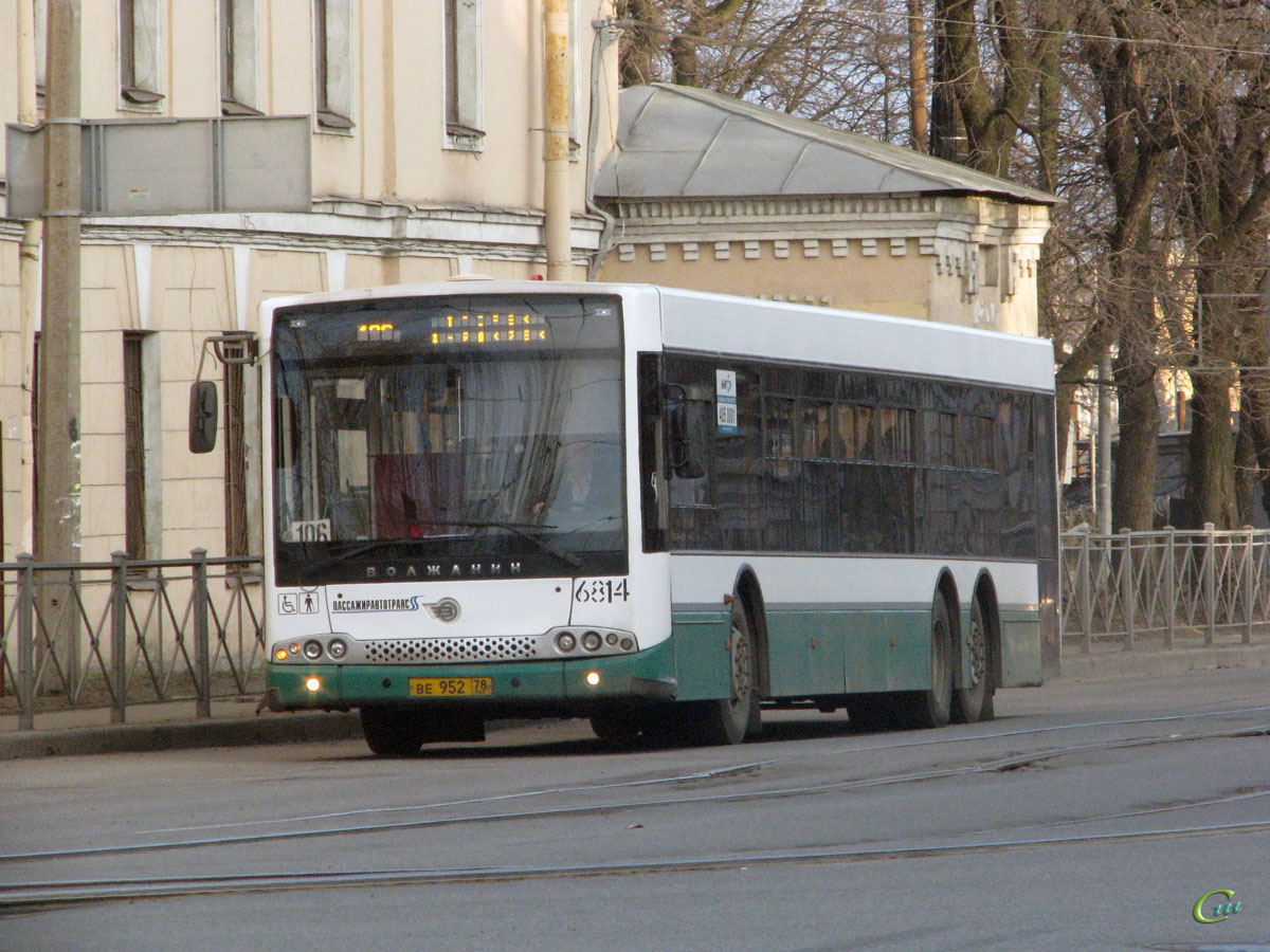 Санкт-Петербург. Волжанин-6270.06 СитиРитм-15 ве952