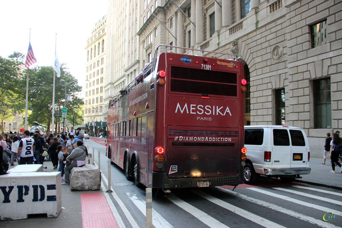 Нью-Йорк. Duple Metsec DM5000 (Dennis Trident 3) 12765-BA