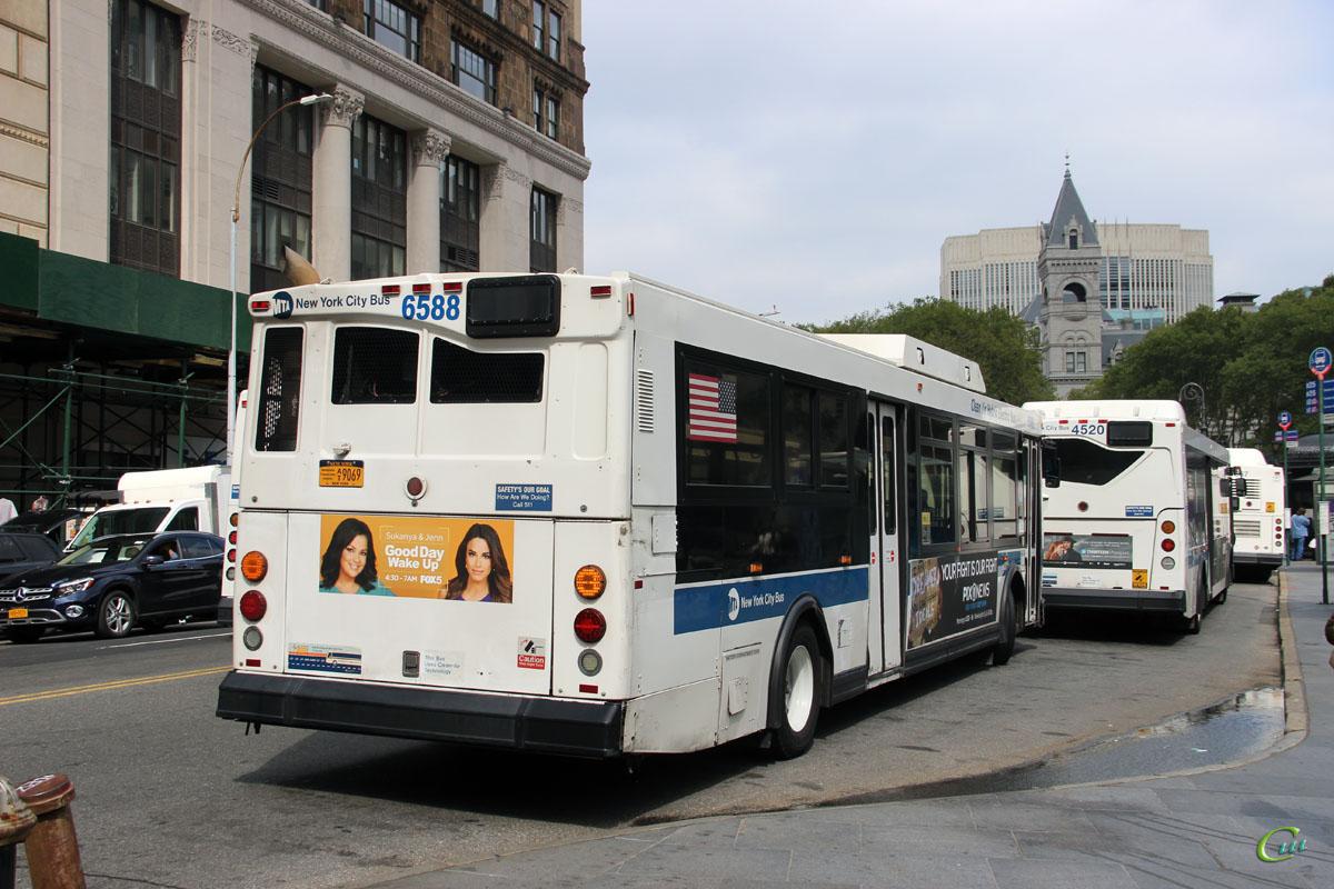 Нью-Йорк. Orion VII 40ft AT9069