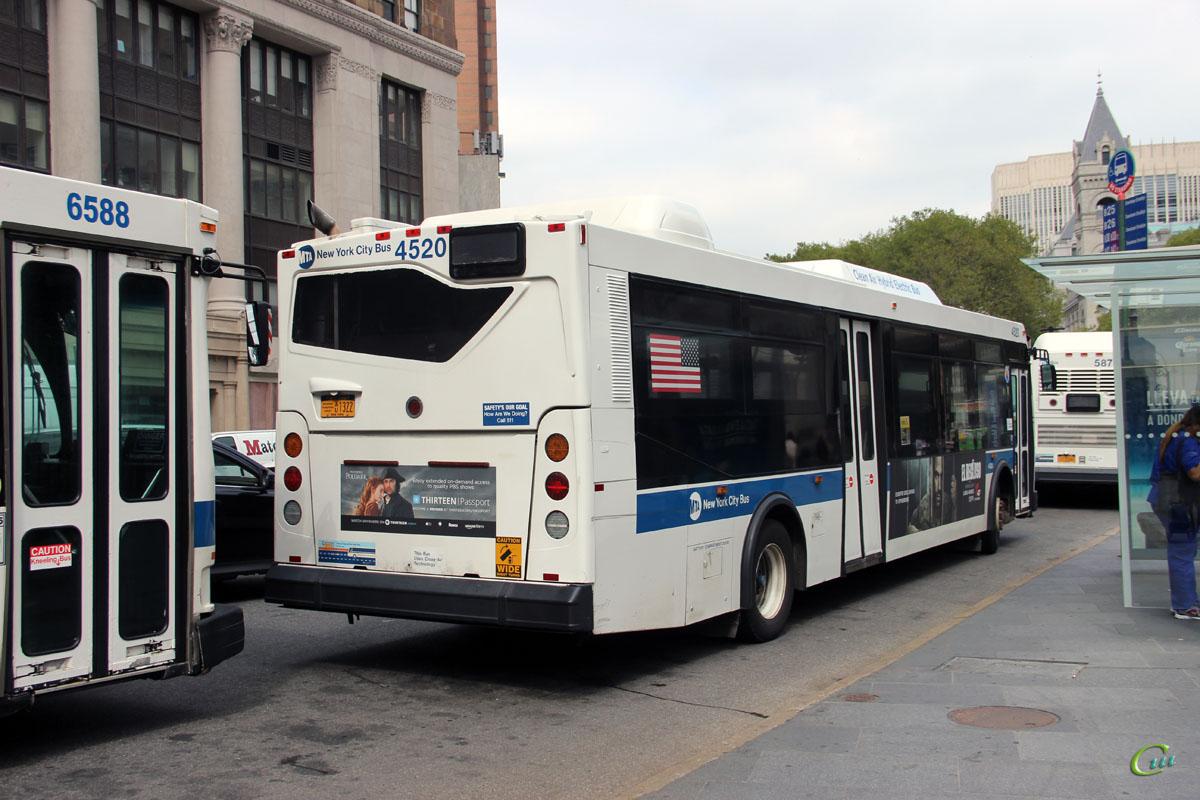 Нью-Йорк. Orion VII 40ft AU1322