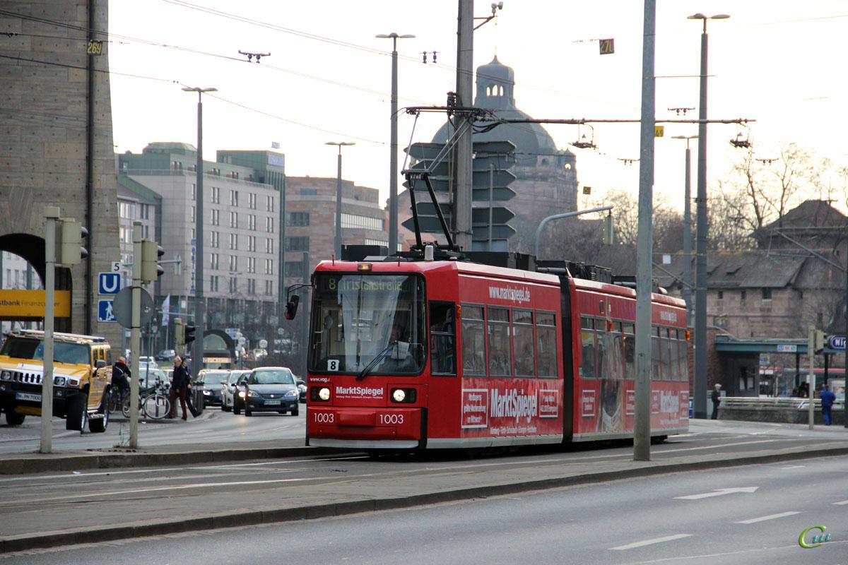 Нюрнберг. AEG GT6N №1003