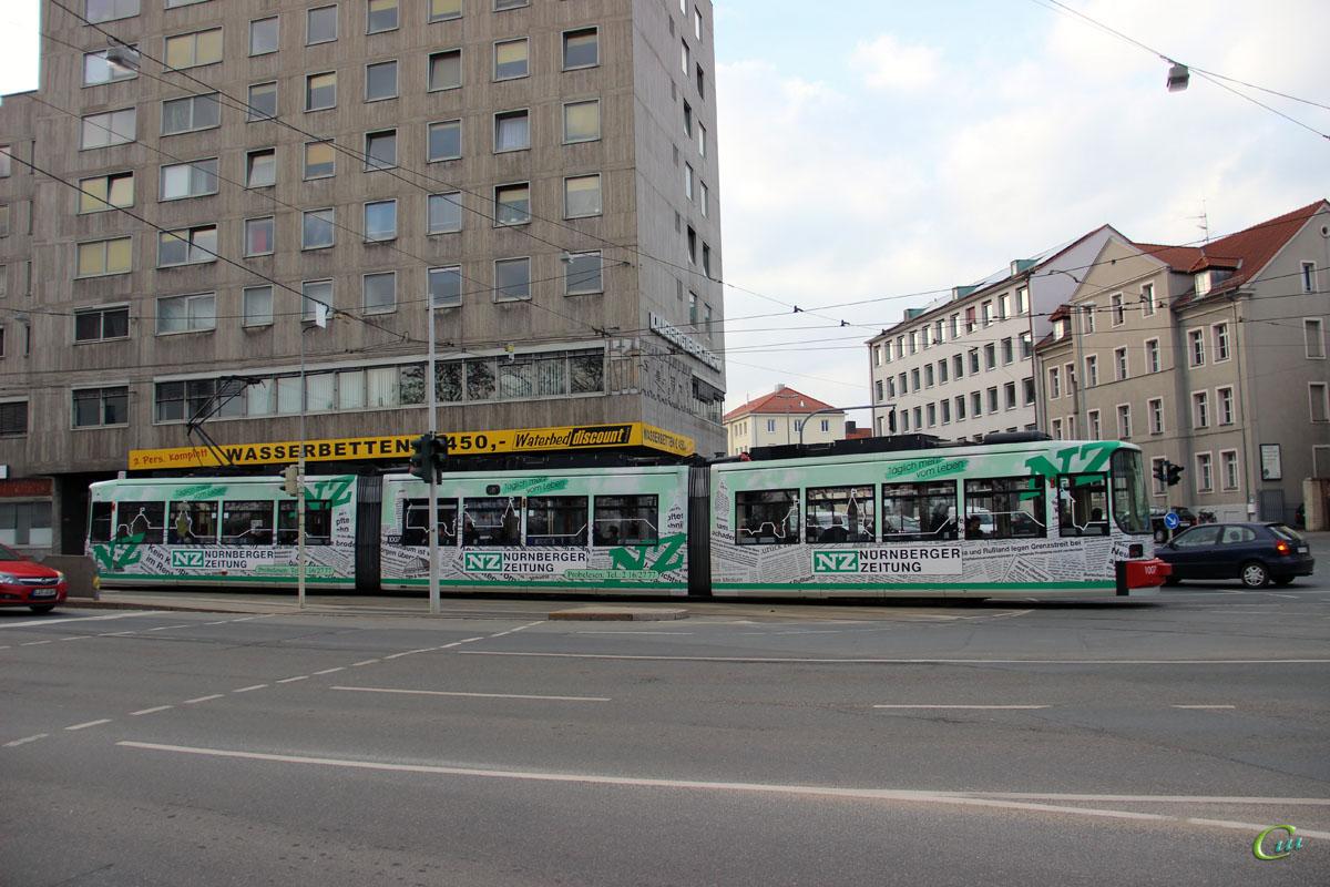 Нюрнберг. AEG GT6N №1007