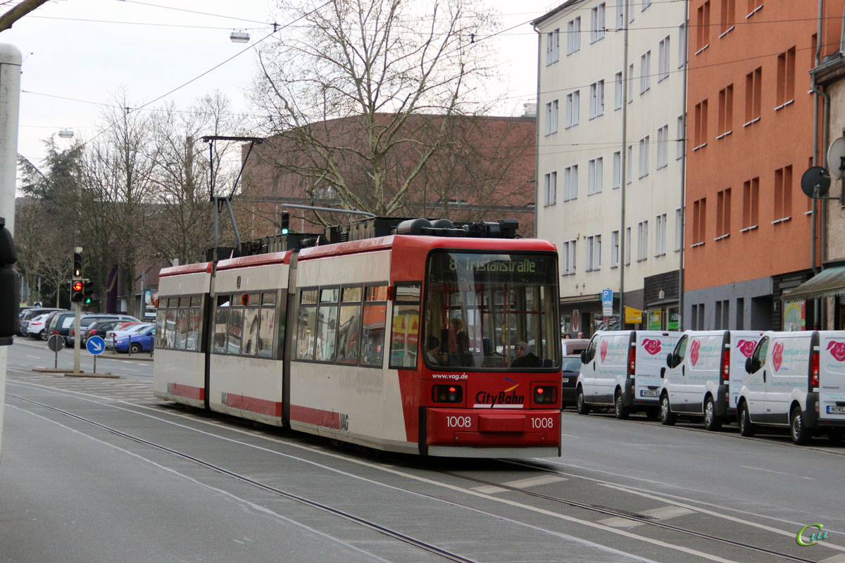 Нюрнберг. AEG GT6N №1008
