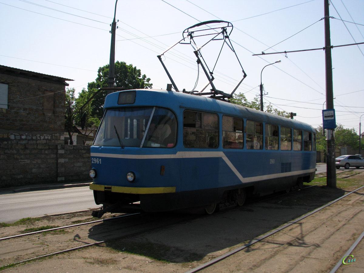 Одесса. Tatra T3R.P №2961