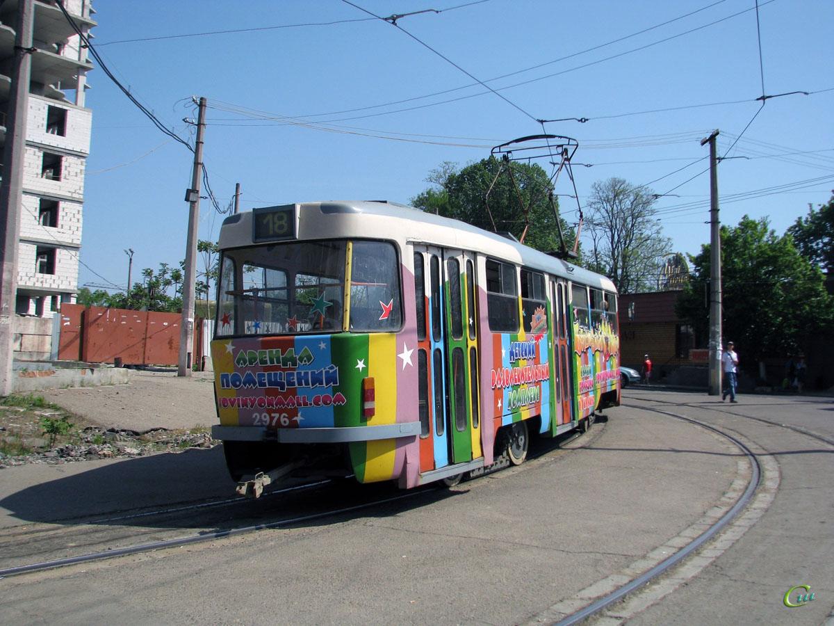 Одесса. Tatra T3R.P №2976