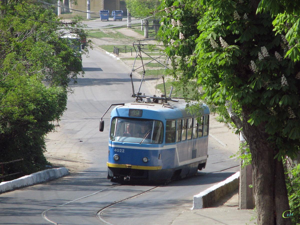 Одесса. Tatra T3R.P №4022