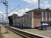 Каменск-Шахтинский. Вокзал станции Лихая