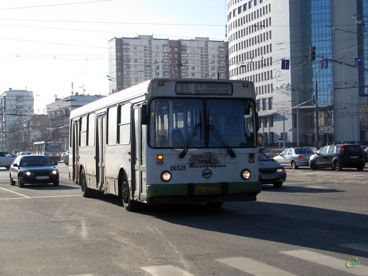 Москва. ЛиАЗ-5256.25 ао623