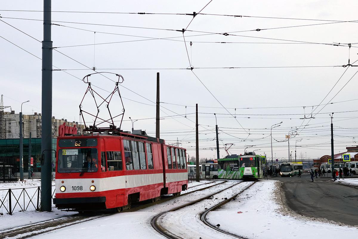Санкт-Петербург. 71-152 (ЛВС-2005) №1116, ЛВС-86К №1098