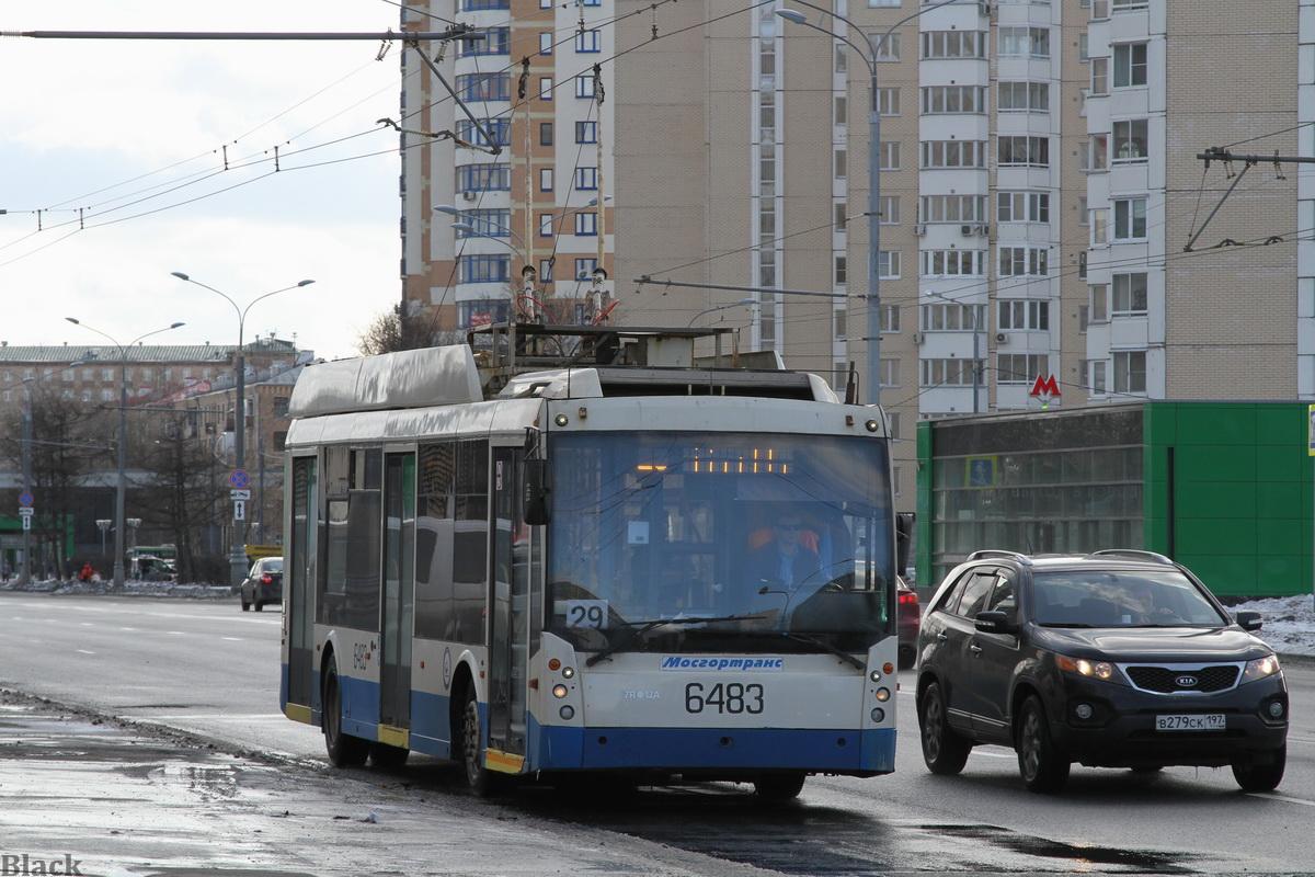 Москва. ТролЗа-5265.00 Мегаполис №6483