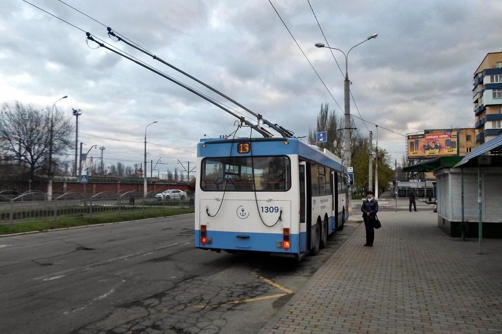 Мариуполь. MAN SL 172 HO №1309