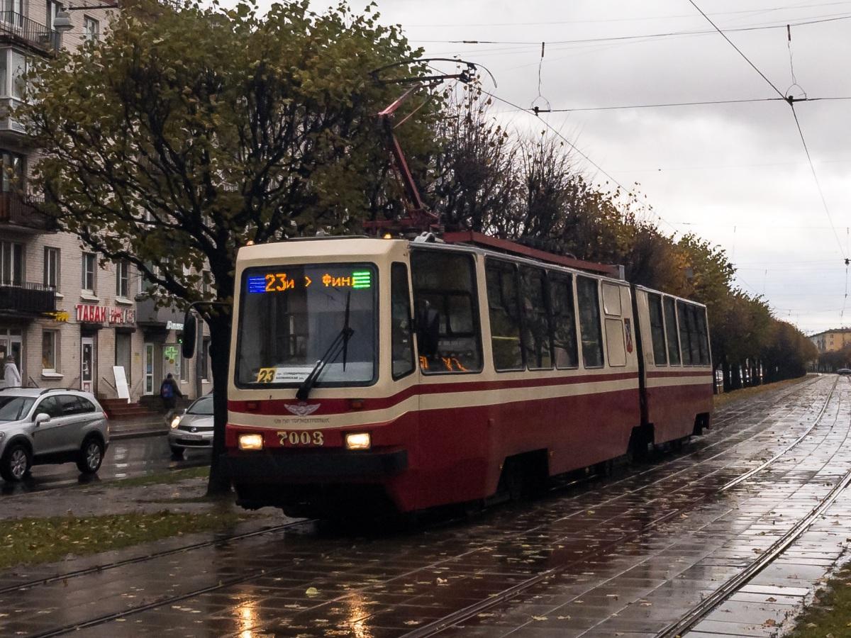 Санкт-Петербург. ЛВС-86К №7003