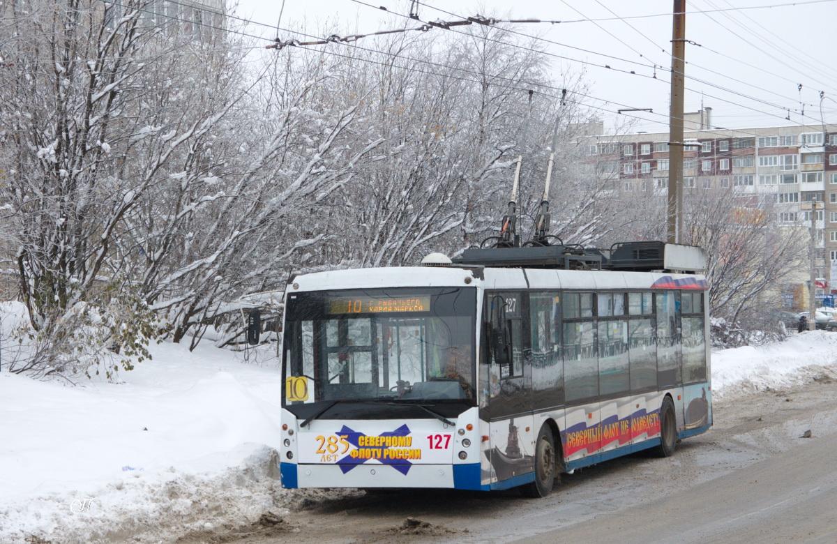 Мурманск. ТролЗа-5265.00 Мегаполис №127