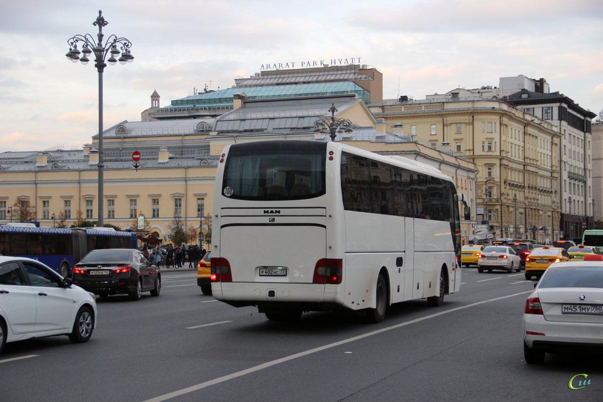 Москва. MAN R07 Lion's Coach р402нс