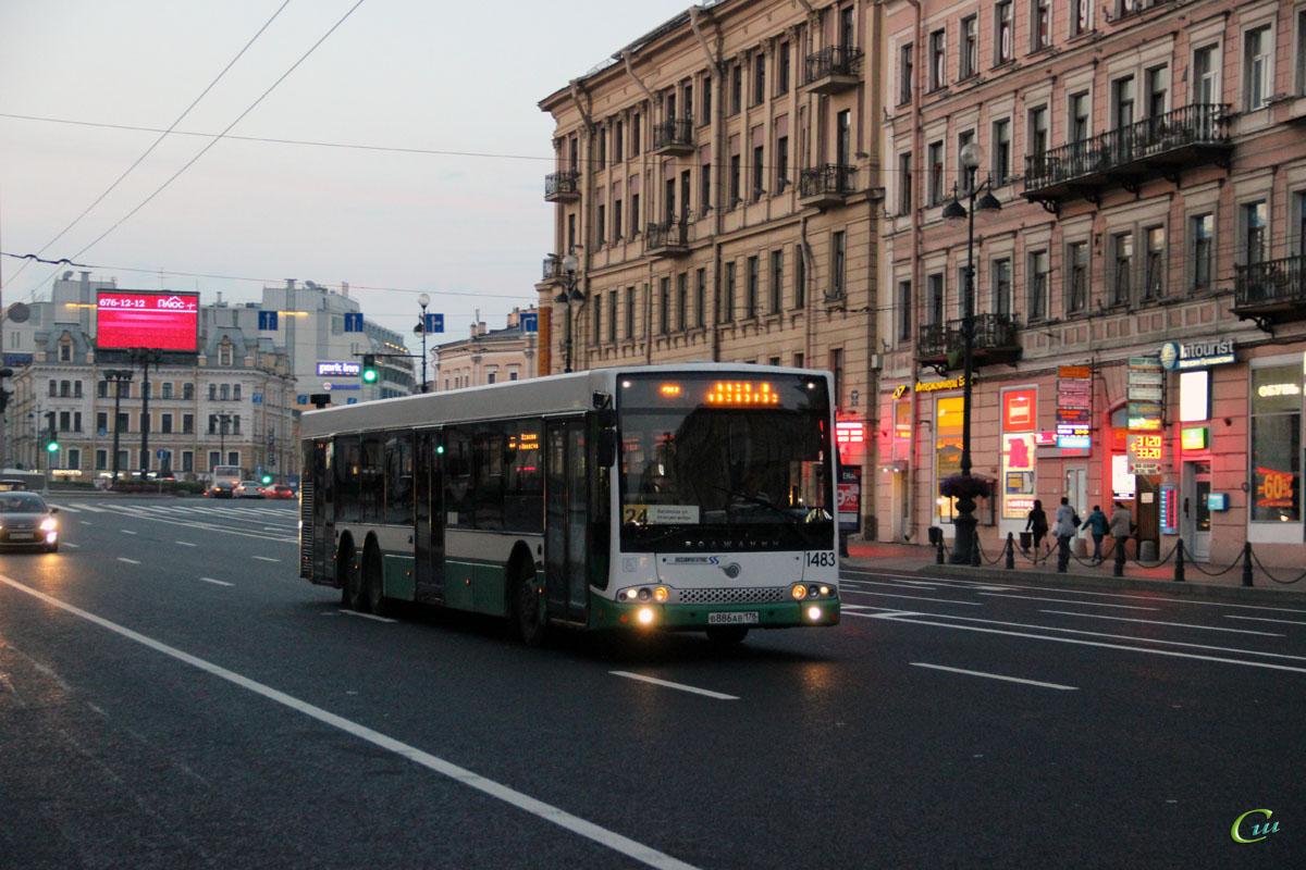 Санкт-Петербург. Волжанин-6270.06 СитиРитм-15 в886ав