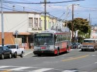 Сан-Франциско. Škoda 14TrSF №5405