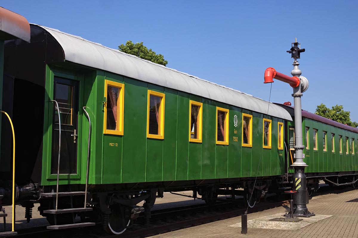 Брест. Двухосный пассажирский вагон