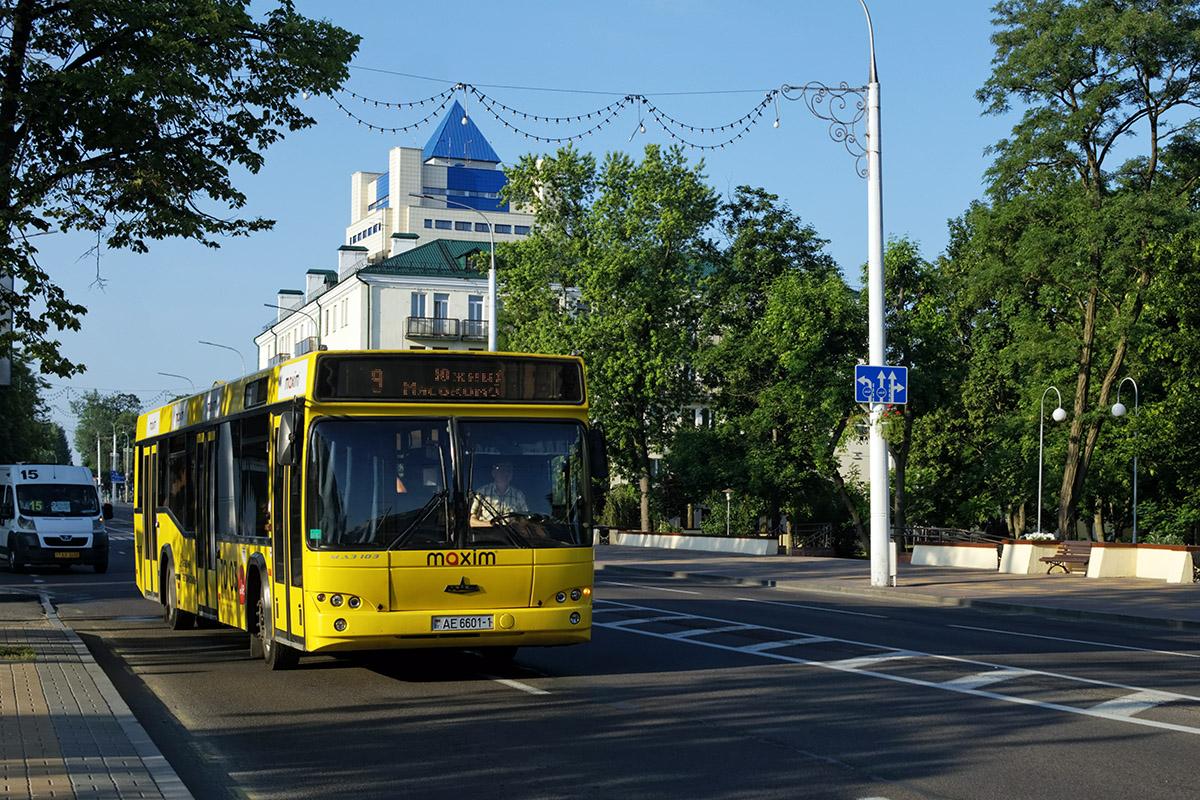 Брест. МАЗ-103.476 AE6601-1