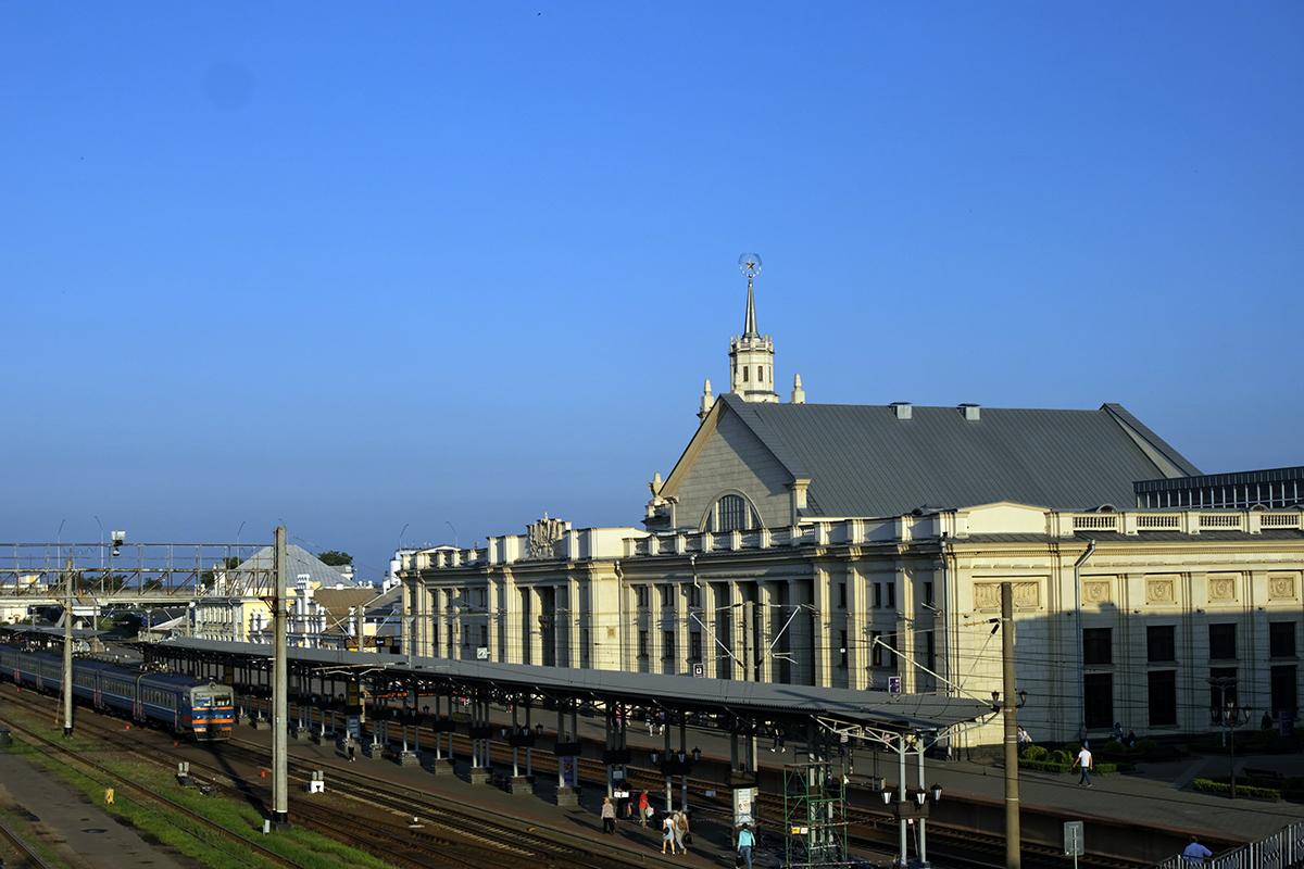 Брест. Вокзал станции Брест-Центральный