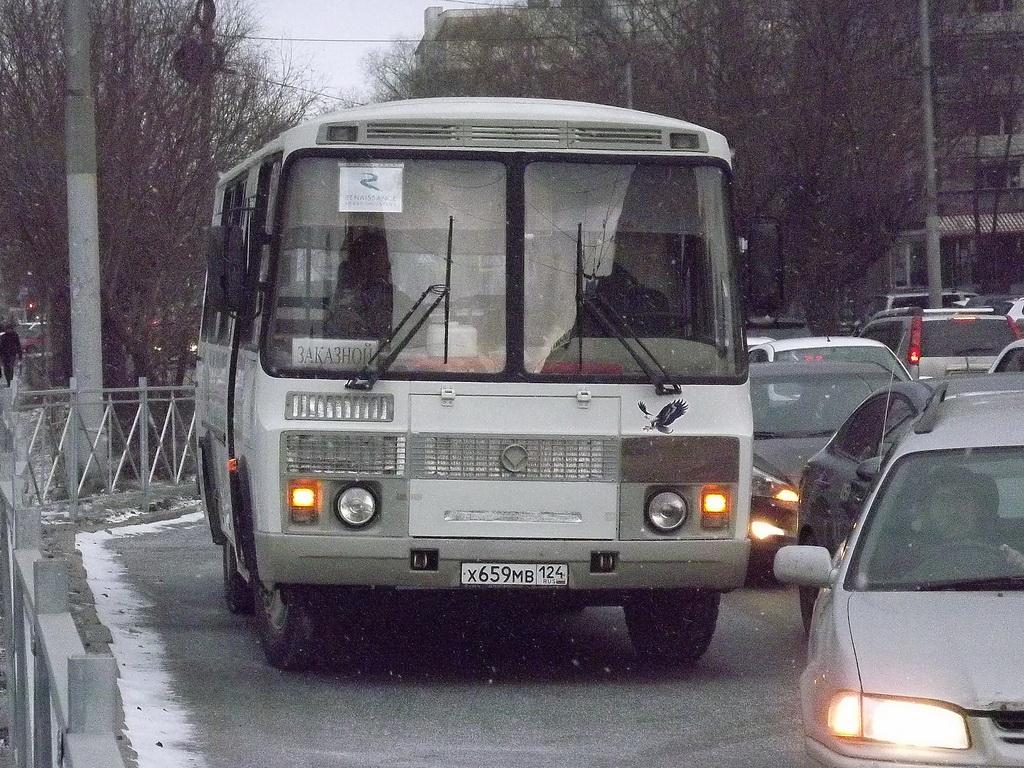 Омск. ПАЗ-32053-110-07 х659мв