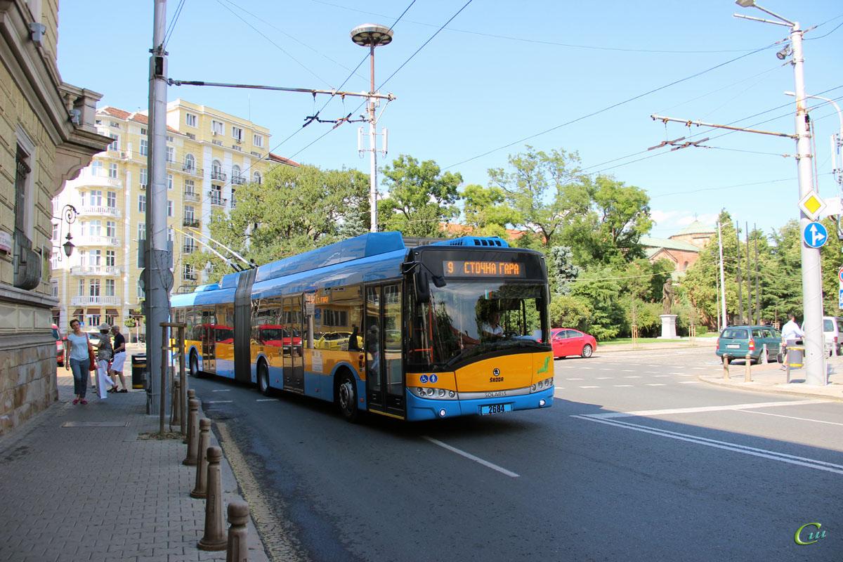 София. Škoda 27Tr Solaris №2684