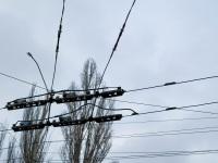 Саратов. Пересечение контактной сети 5 и 11 маршрутов троллейбуса