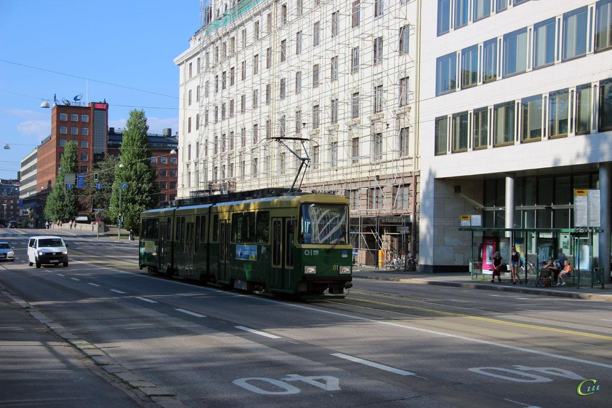 Хельсинки. Valmet MLNRV2 №81