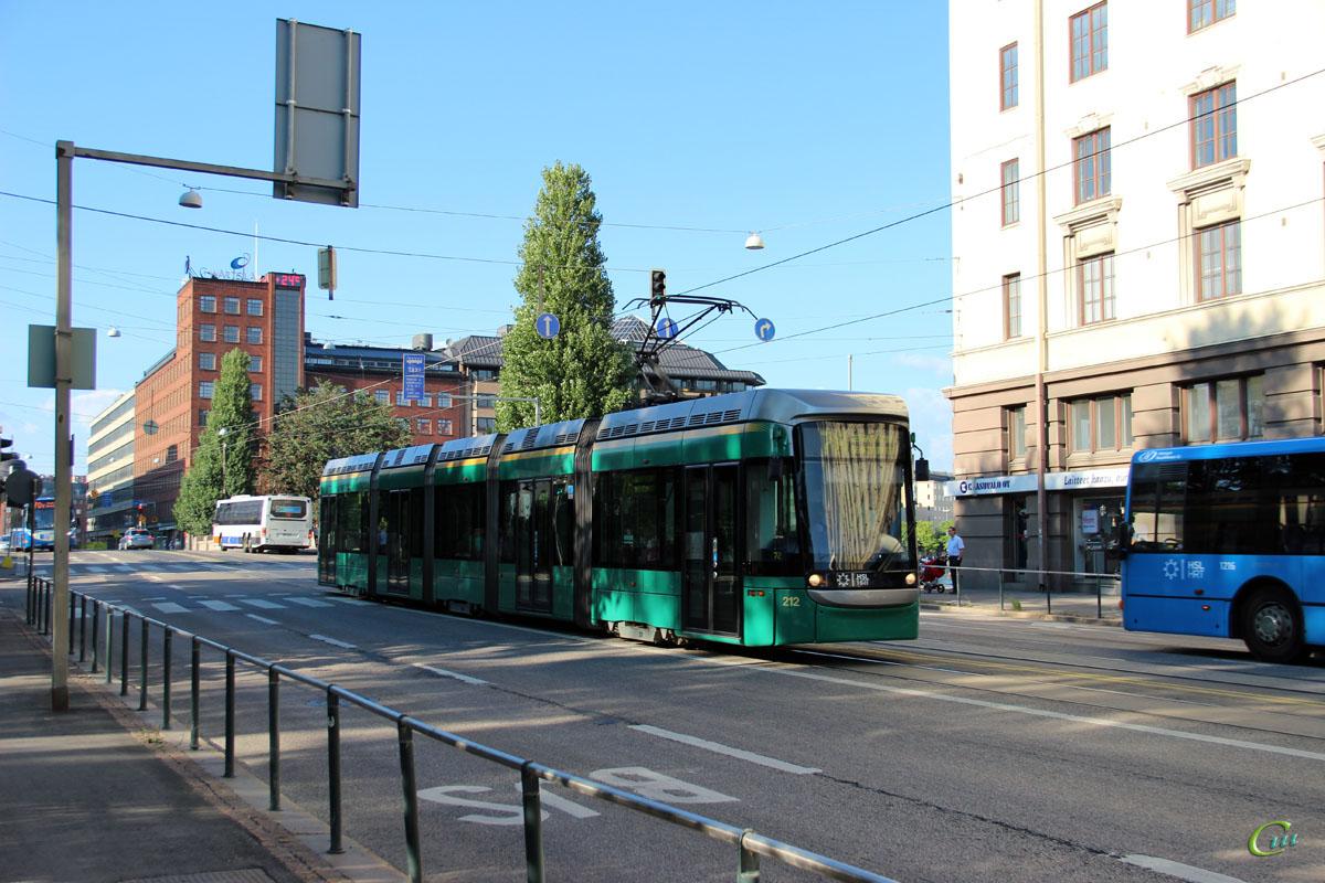 Хельсинки. Variotram №212