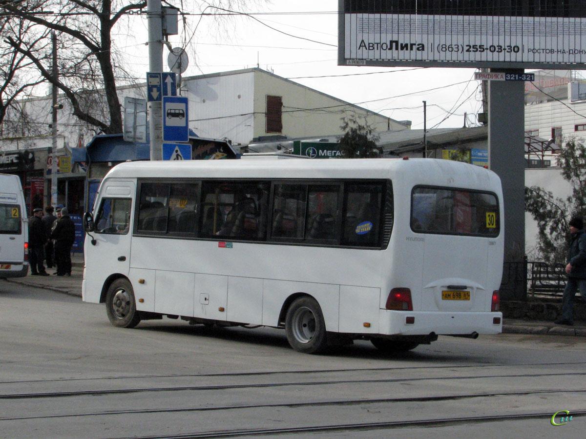 Таганрог. Hyundai County LWB ам698