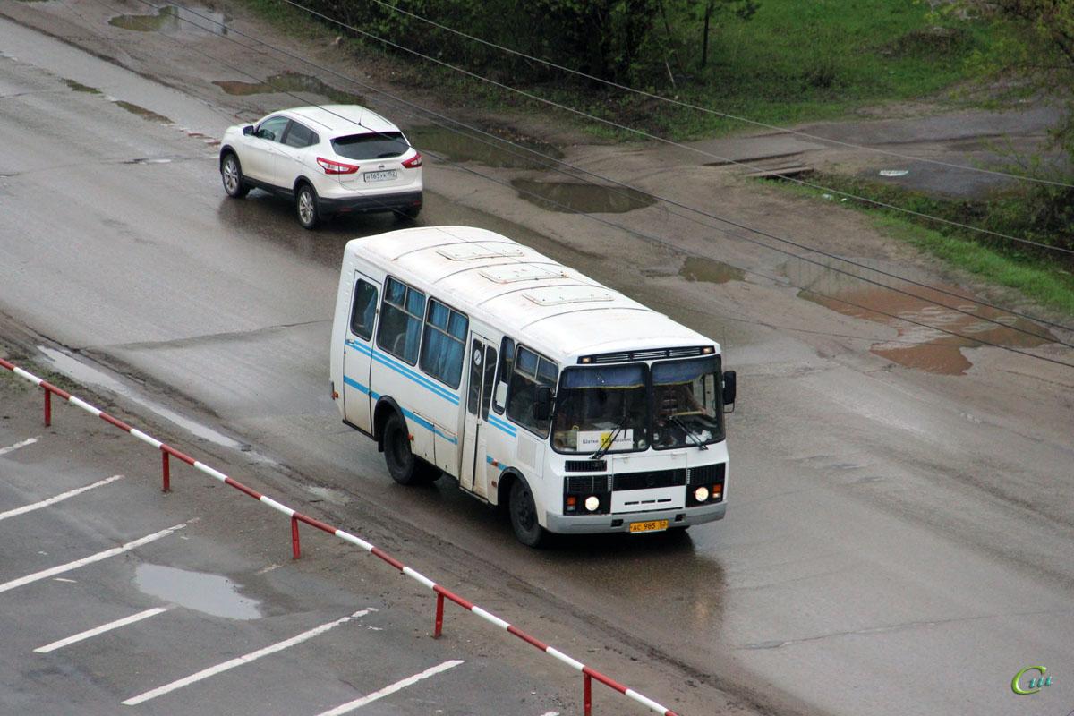 Арзамас. ПАЗ-3205-110 ас985
