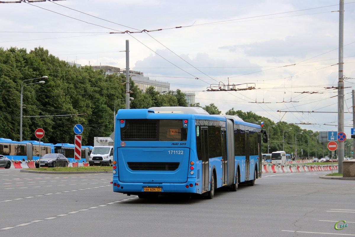 Москва. ЛиАЗ-6213.65 хн634
