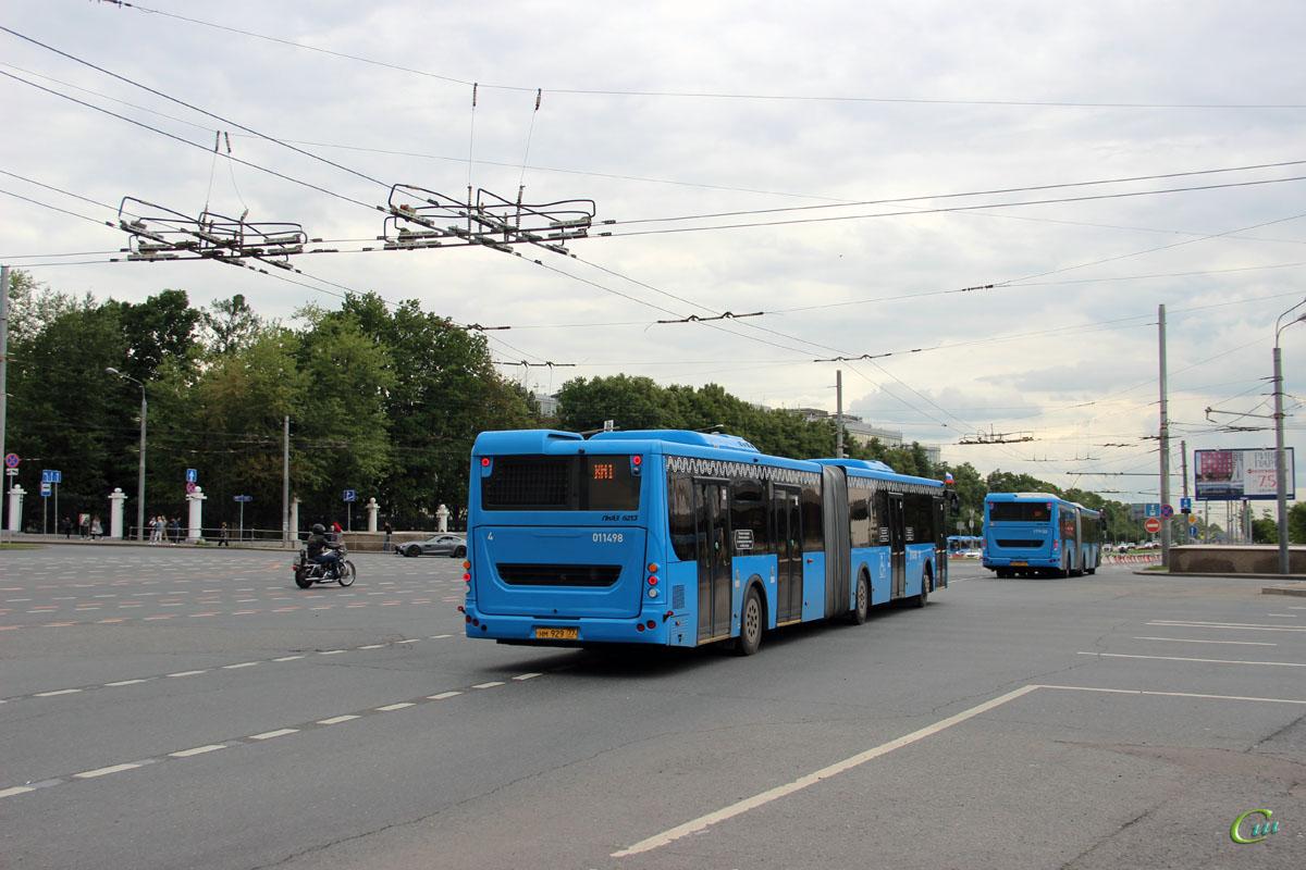 Москва. ЛиАЗ-6213.65 нм929