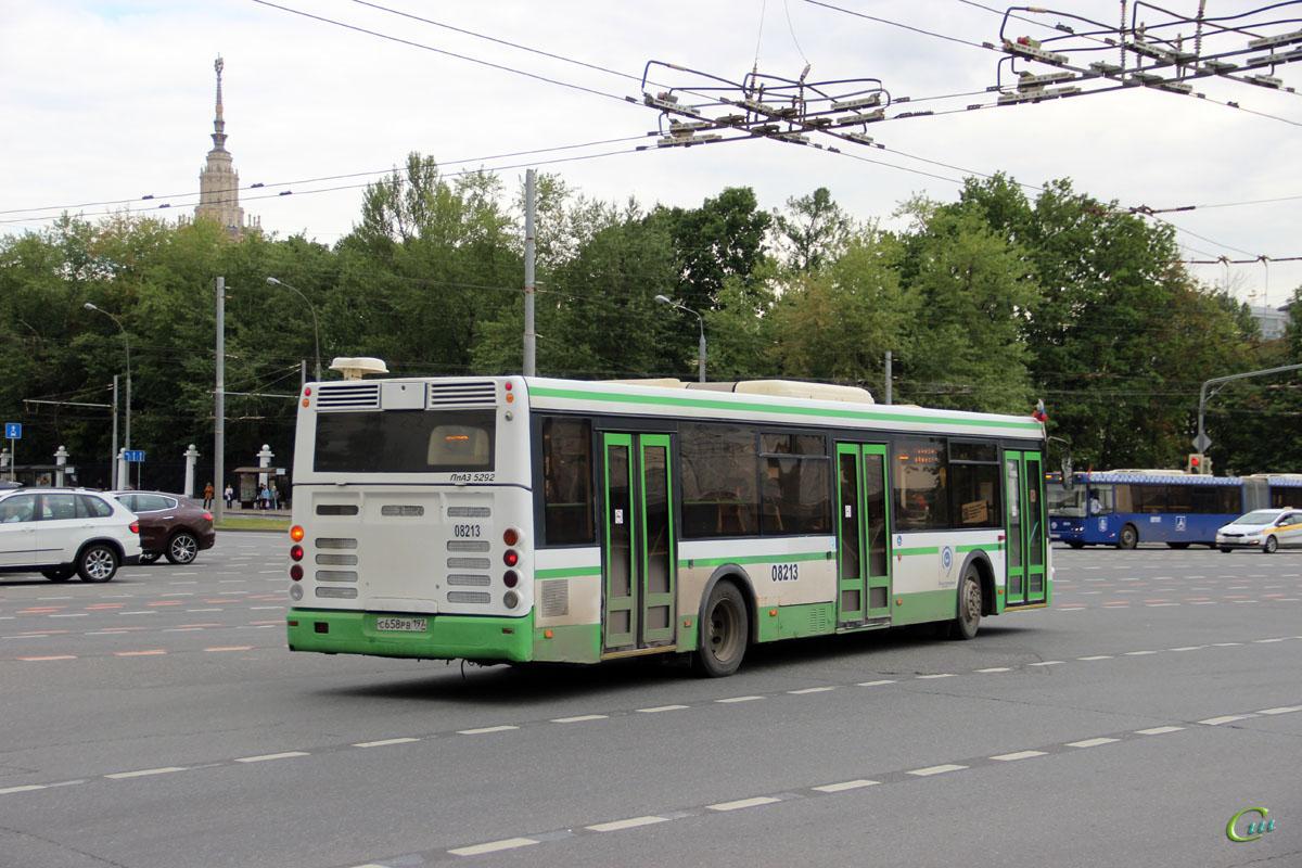 Москва. ЛиАЗ-5292.21 с658рв