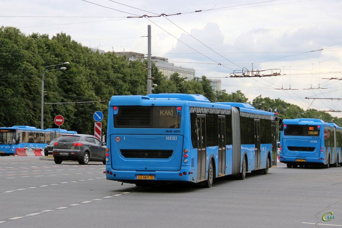 Москва. ЛиАЗ-6213.65 са661