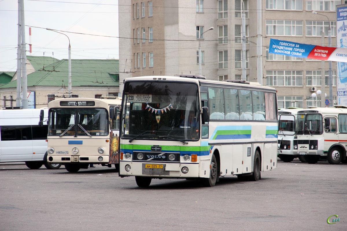 Белгород. Mercedes-Benz O307 р803ву, Van Hool T8 Alizée ам025