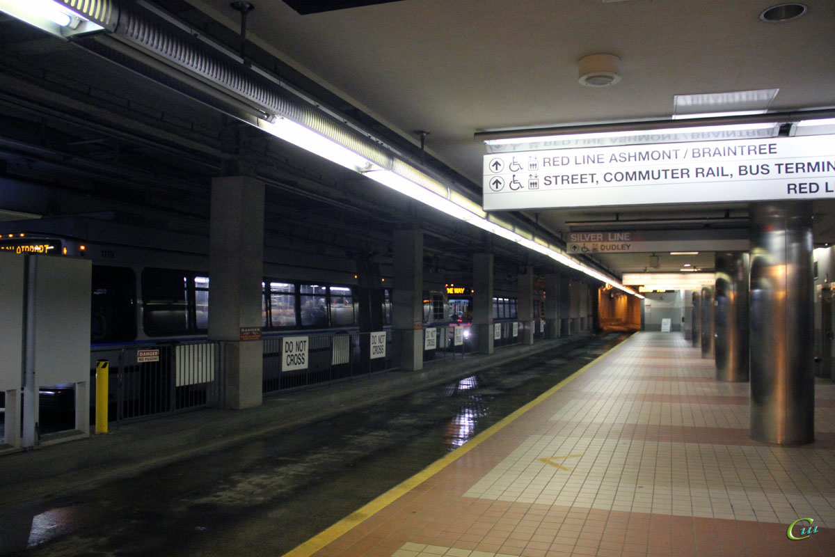 Бостон. Конечная станция South Station