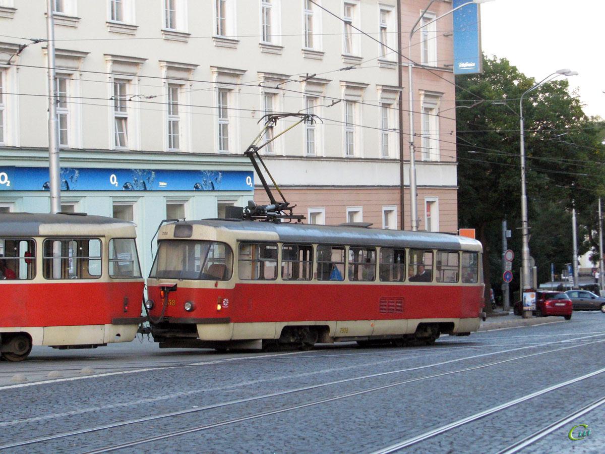 Братислава. Tatra T3G №7838