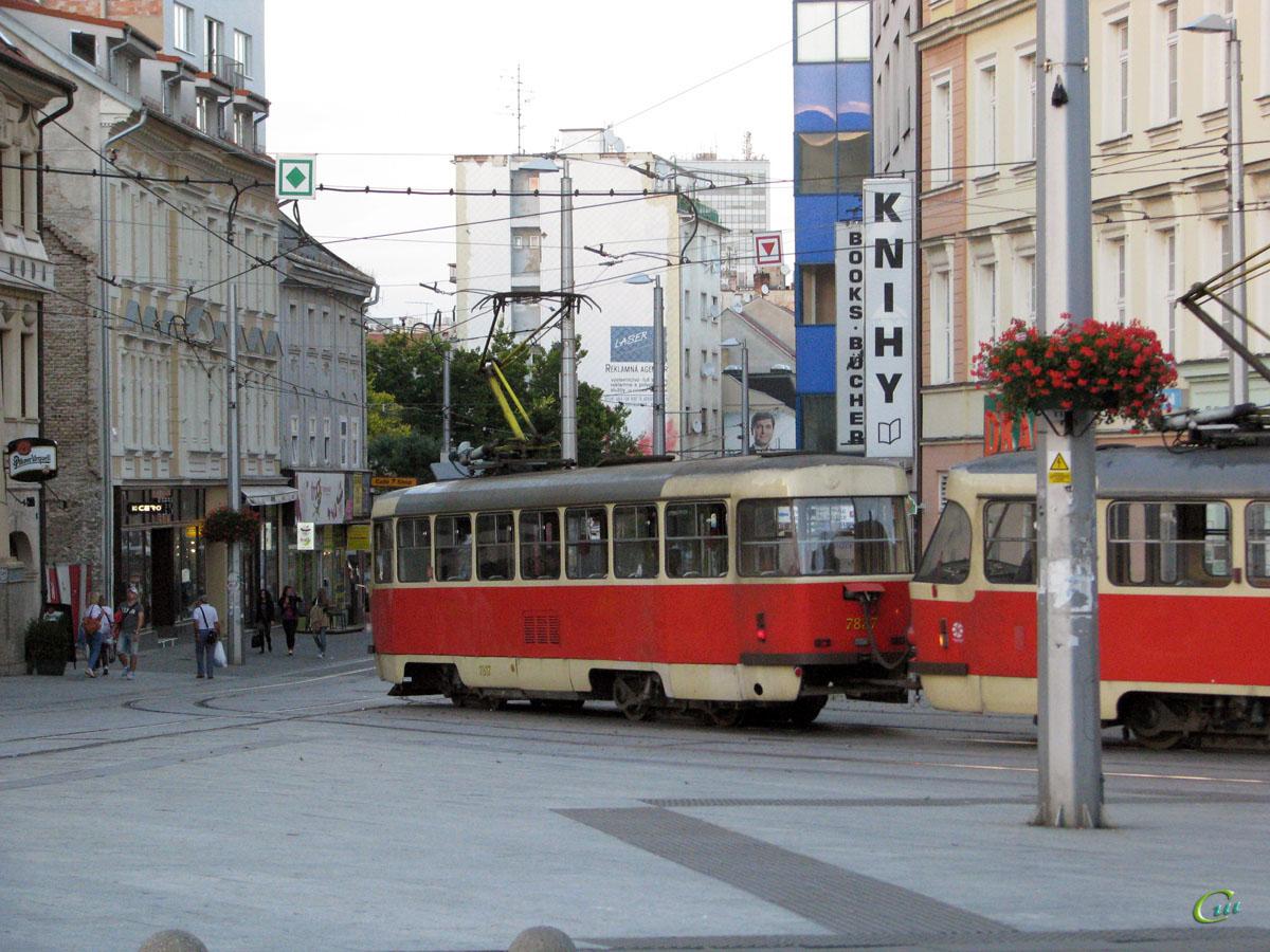 Братислава. Tatra T3G №7837