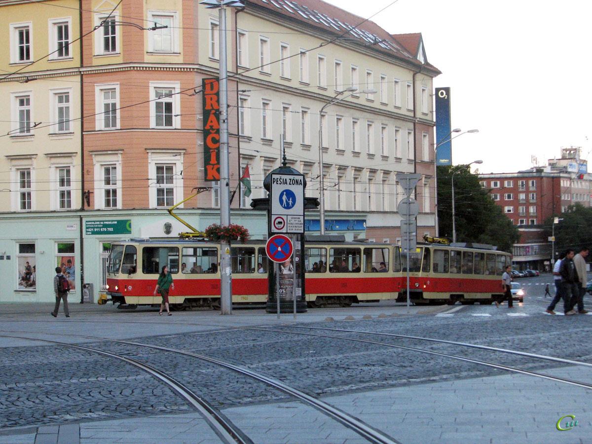 Братислава. Tatra T6A5 №7921, Tatra T6A5 №7922