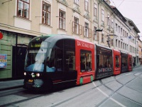 Грац. Bombardier Cityrunner №652