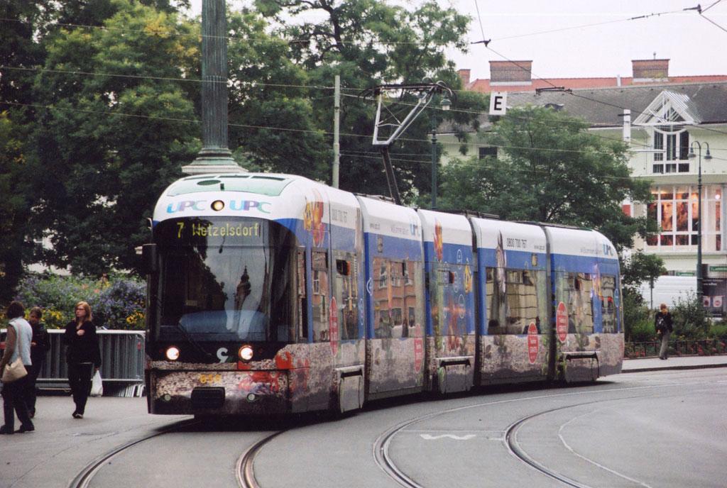 Грац. Bombardier Cityrunner №658