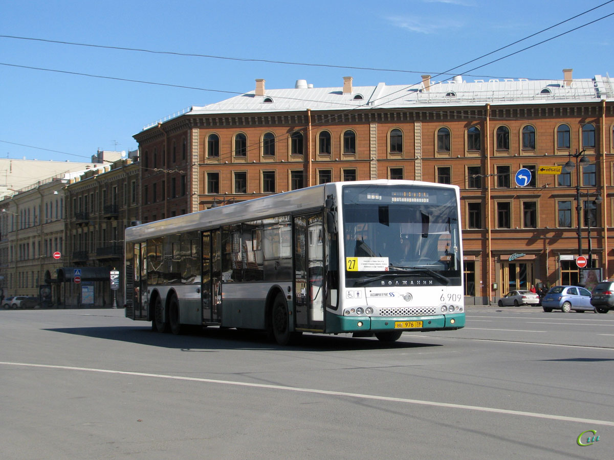Санкт-Петербург. Волжанин-6270.06 СитиРитм-15 ве976