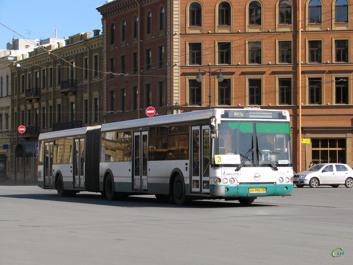 Санкт-Петербург. ЛиАЗ-6213.20 ау996