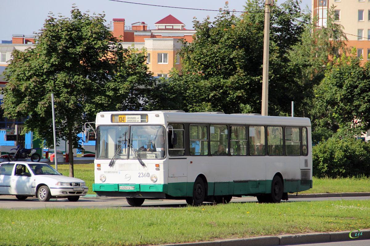 Санкт-Петербург. ЛиАЗ-5256.25 в604ск
