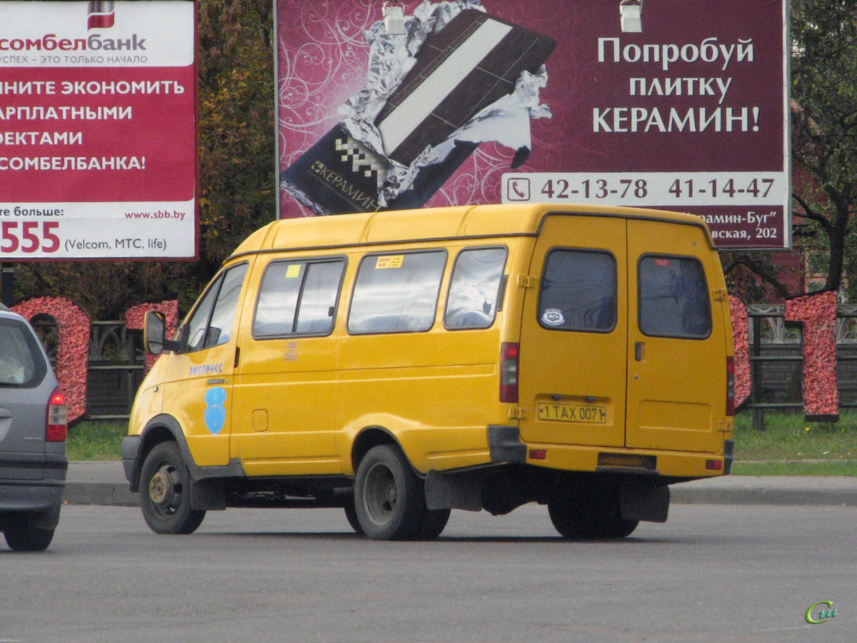 Брест. ГАЗель (все модификации) 1TAX0071