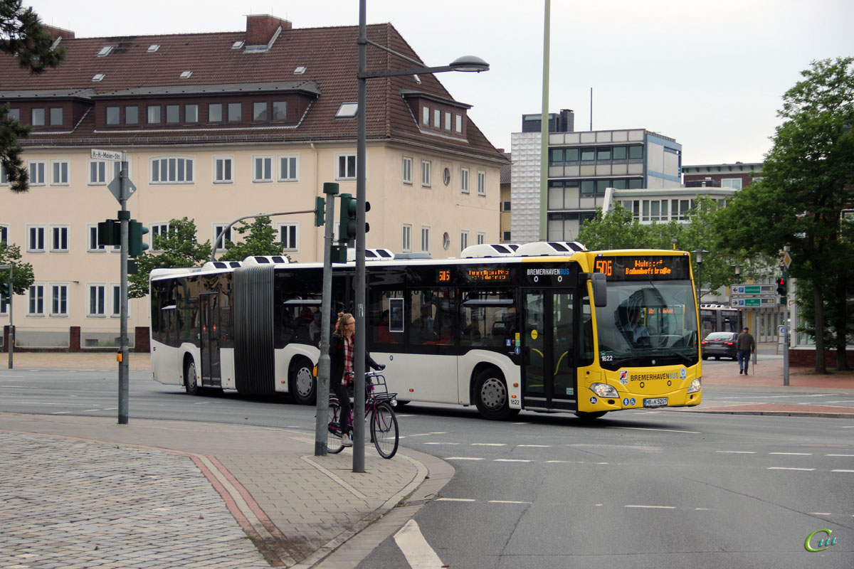 Бремерхафен. Mercedes-Benz O530 Citaro G HB-K 5207