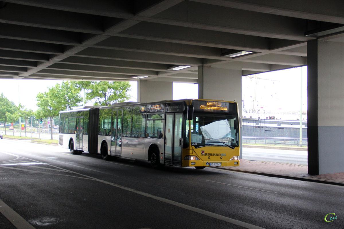 Бремерхафен. Mercedes-Benz O530 Citaro G HB-K 5247