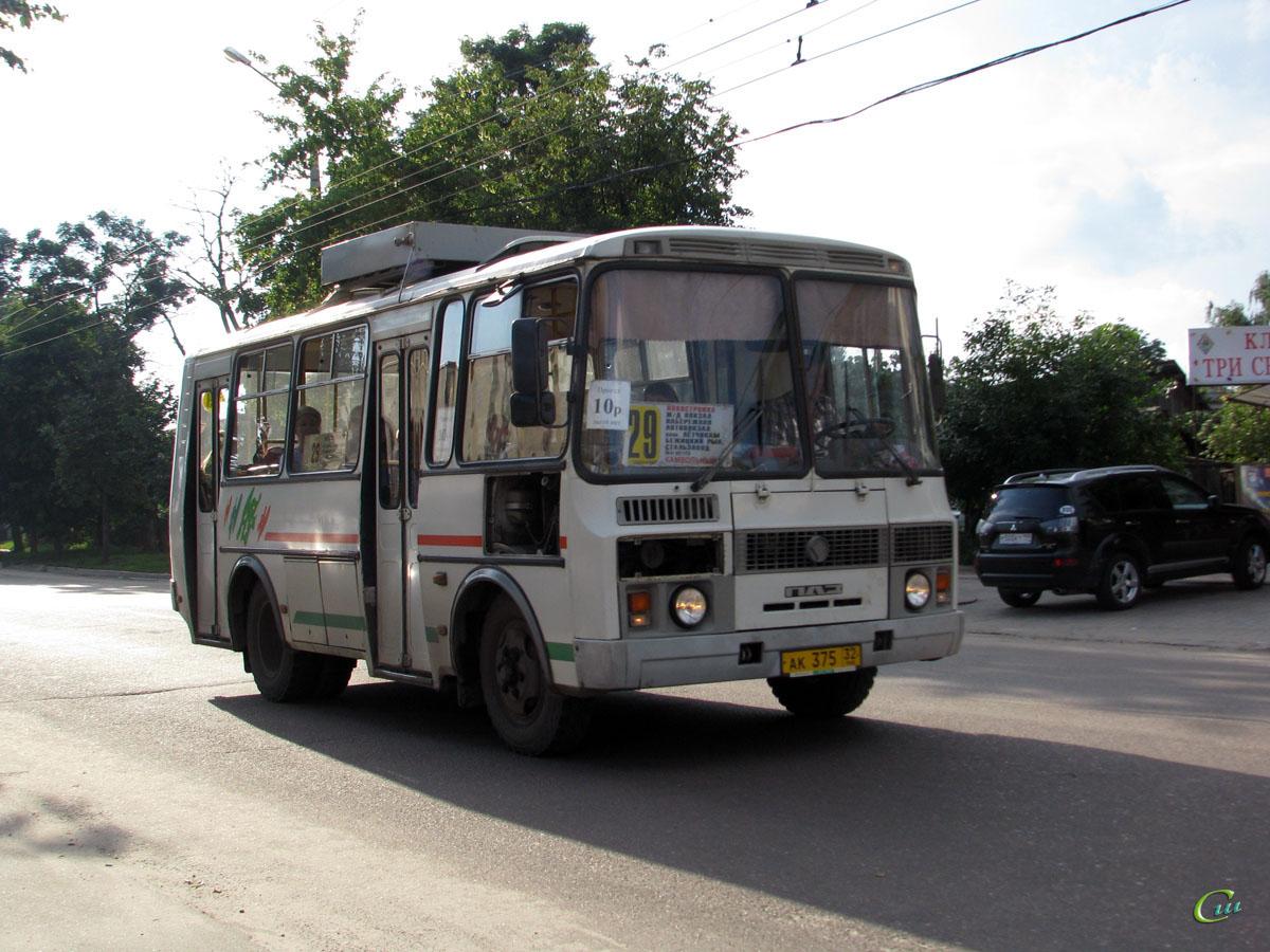 Брянск. ПАЗ-32054 ак375