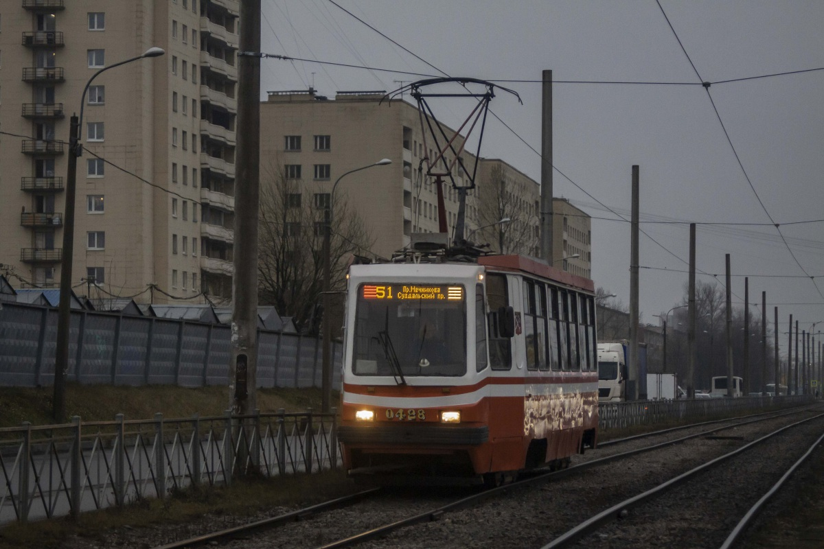 Санкт-Петербург. 71-134К (ЛМ-99К) №0428